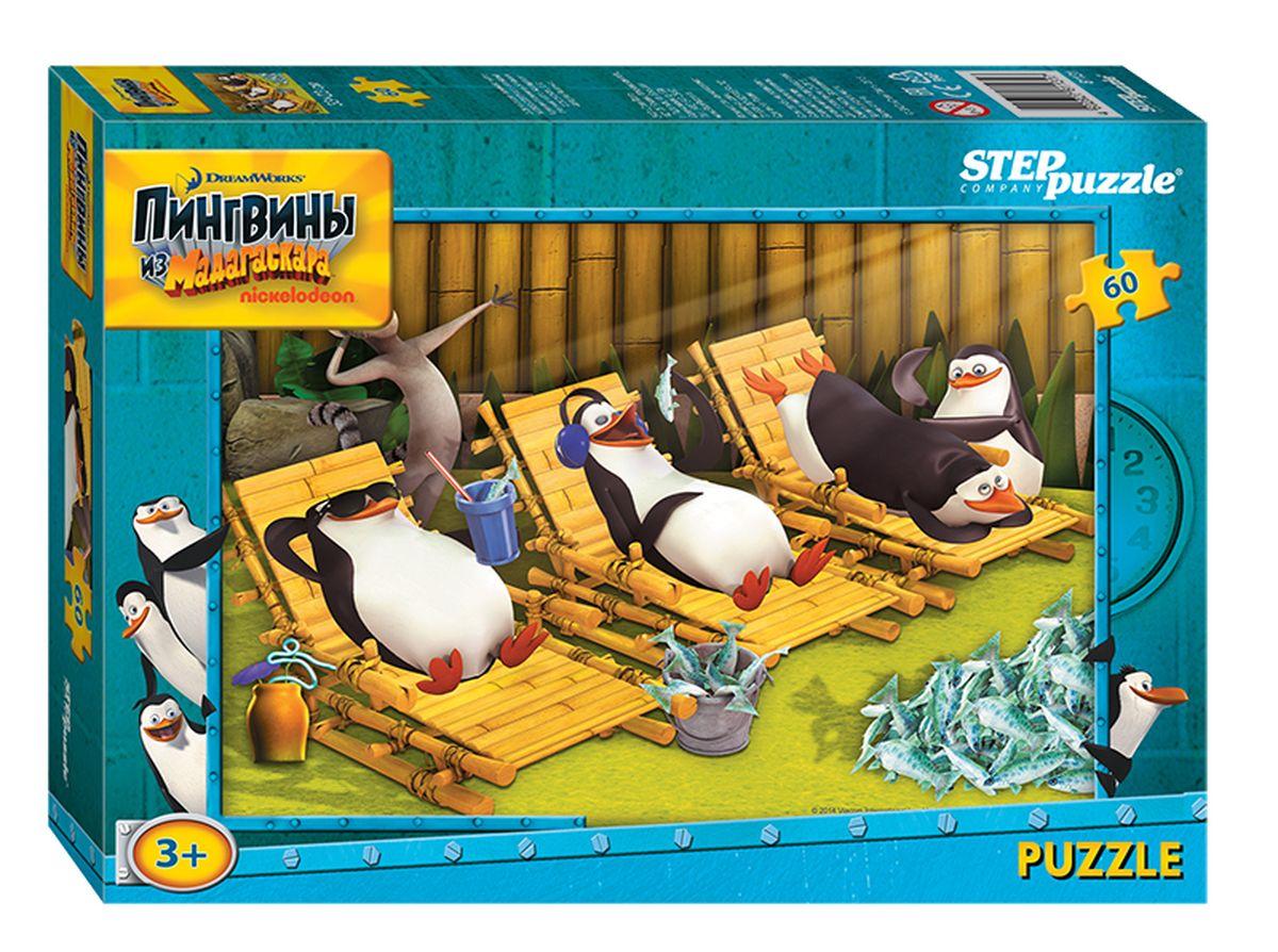 Step Puzzle Пазл для малышей Пингвины из Мадагаскара