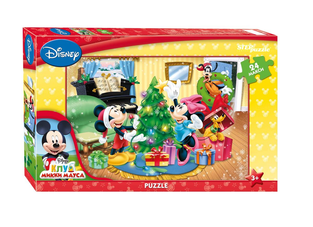 Step Puzzle Пазл для малышей Микки Маус. Праздник