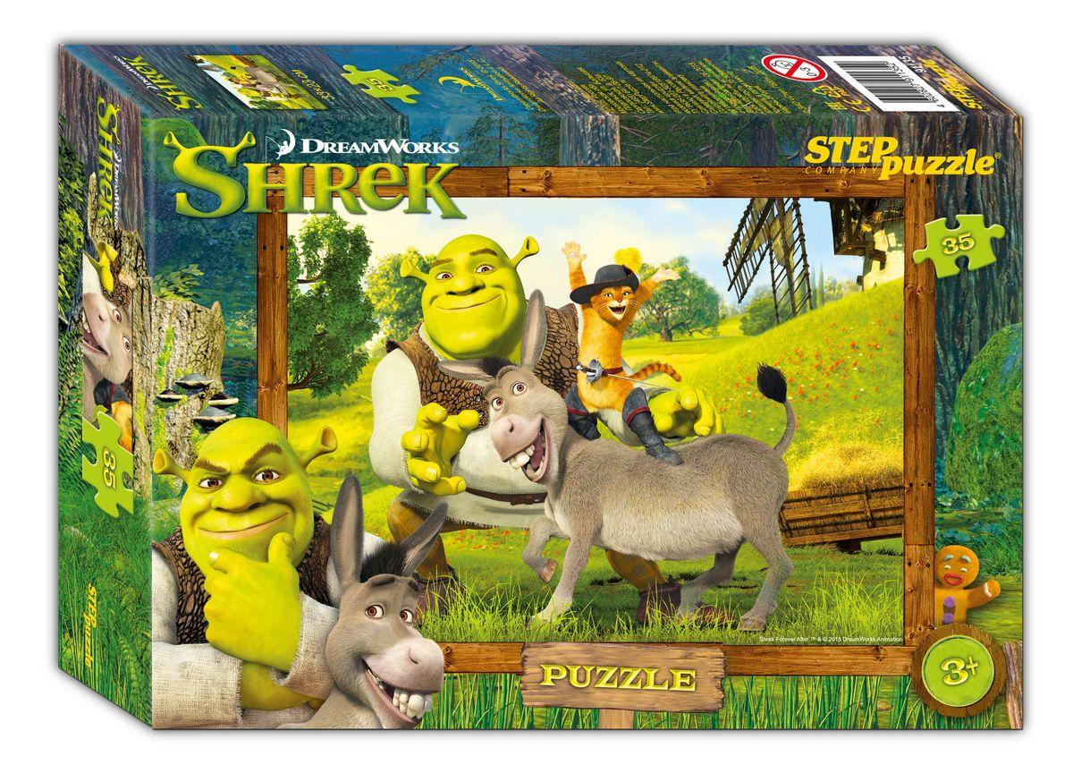 Step Puzzle Пазл для малышей Shrek пазлы crystal puzzle 3d головоломка вулкан 40 деталей