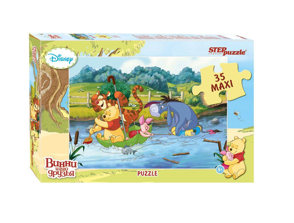 Step Puzzle Пазл для малышей Медвежонок Винни 91209 игры для малышей step puzzle настольная игра кубик пазл медвежонок винни пух