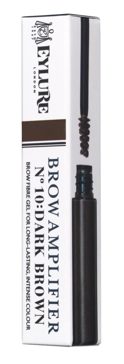 Eylure Цветной гель для формирования бровей Brow Amplifier - 10 DARK BROWN Темно-коричневый 3 мл isadora brow shaping gel 62 цвет 62 dark brown variant hex name 352b29