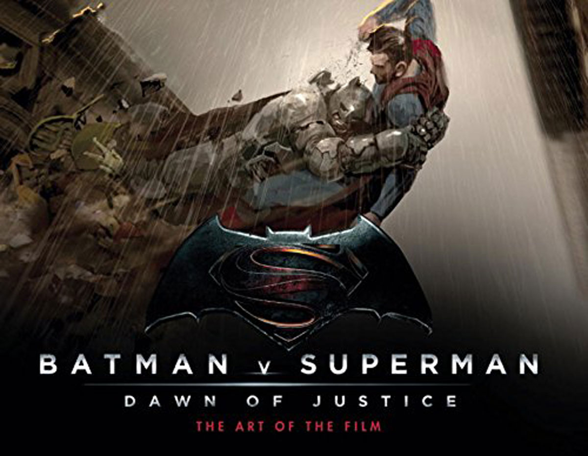 Batman v Superman: Dawn of Justice: The Art of the Film the little book of batman
