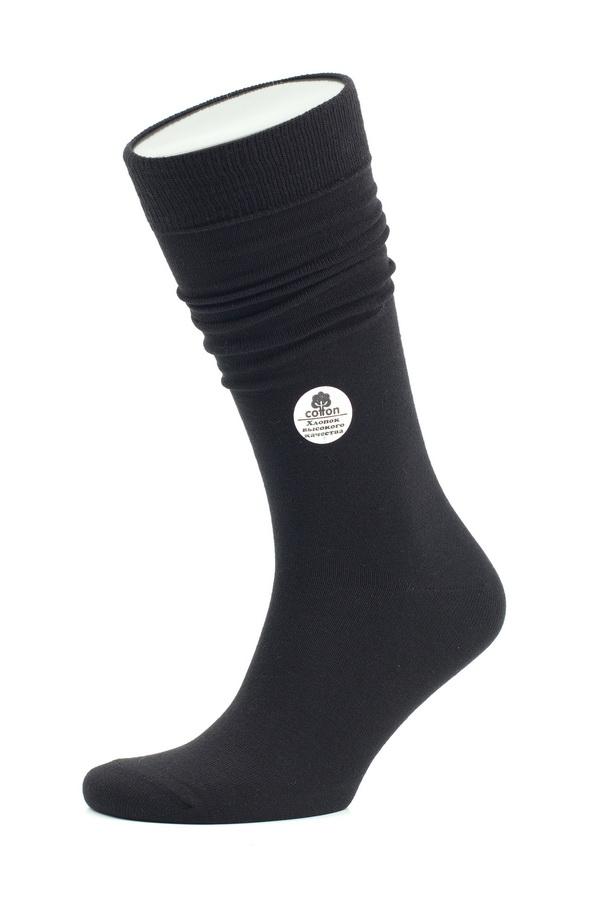Носки мужские Uomo Fiero, цвет: черный. MS058. Размер 29 (43/45)MS058Мужские носки Uomo Fiero изготовлены из высококачественного эластичного хлопка с добавлением полиамида. Удлиненные носки дополнены эластичной резинкой, которая надежно фиксирует носки на ноге.