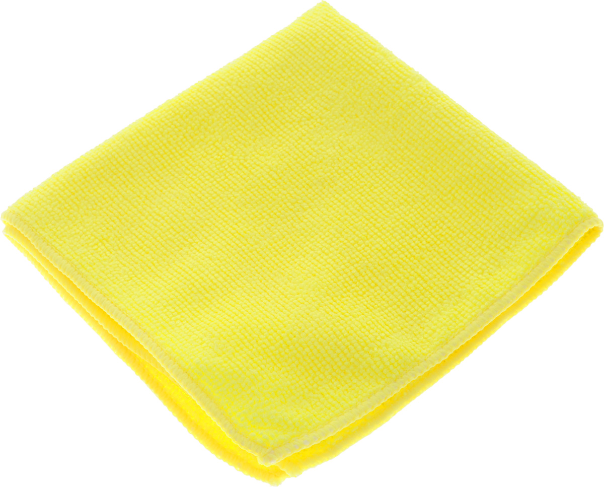 Салфетка для уборки Sol из микрофибры, цвет: желтый, 30 x 30 см10007/10052_желтыйСалфетка Soll выполнена из микрофибры. Микрофибра - это ткань из тонких микроволокон, которая эффективно очищает поверхности благодаря капиллярному эффекту между ними. Такая салфетка может использоваться как для сухой, так и для влажной уборки. Деликатно очищает любые поверхности не оставляя следов и разводов. Идеально подходит для протирки полированной мебели. Сохраняет свои свойства после стирки. Рекомендации по применению и уходу: Для обеспечения гигиеничности рекомендуется прополаскивать салфетку после каждого применения с моющим средством. Для сохранения мягкости не рекомендуется сушить вблизи отопительных приборов и на батареях. Нельзя стирать с отбеливающими средствами, кипятить и гладить.