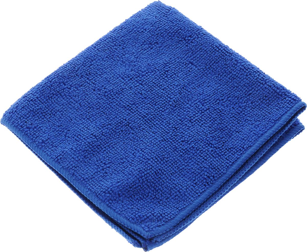 Салфетка для уборки Sol из микрофибры, цвет: синий, 30 x 30 см10007/10052_синийСалфетка Soll выполнена из микрофибры. Микрофибра - это ткань из тонких микроволокон, которая эффективно очищает поверхности благодаря капиллярному эффекту между ними. Такая салфетка может использоваться как для сухой, так и для влажной уборки. Деликатно очищает любые поверхности не оставляя следов и разводов. Идеально подходит для протирки полированной мебели. Сохраняет свои свойства после стирки. Рекомендации по применению и уходу: Для обеспечения гигиеничности рекомендуется прополаскивать салфетку после каждого применения с моющим средством. Для сохранения мягкости не рекомендуется сушить вблизи отопительных приборов и на батареях. Нельзя стирать с отбеливающими средствами, кипятить и гладить.