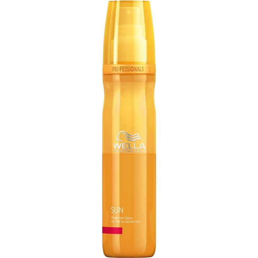 Wella Солнцезащитный спрей Sun, 150 мл81308233Нормальные и тонкие волосы тоже нуждаются в защите, особенно если речь идет о пребывании на солнце. Солнцезащитный спрей из серии Wella SUN защитит волосы от воздействия ультрафиолетовых лучей, в его основе лежит инновационная двухфазная формула: средство не только защищает, но и увлажняет ваши локоны, дарит им блеск, делает мягкими на ощупь.