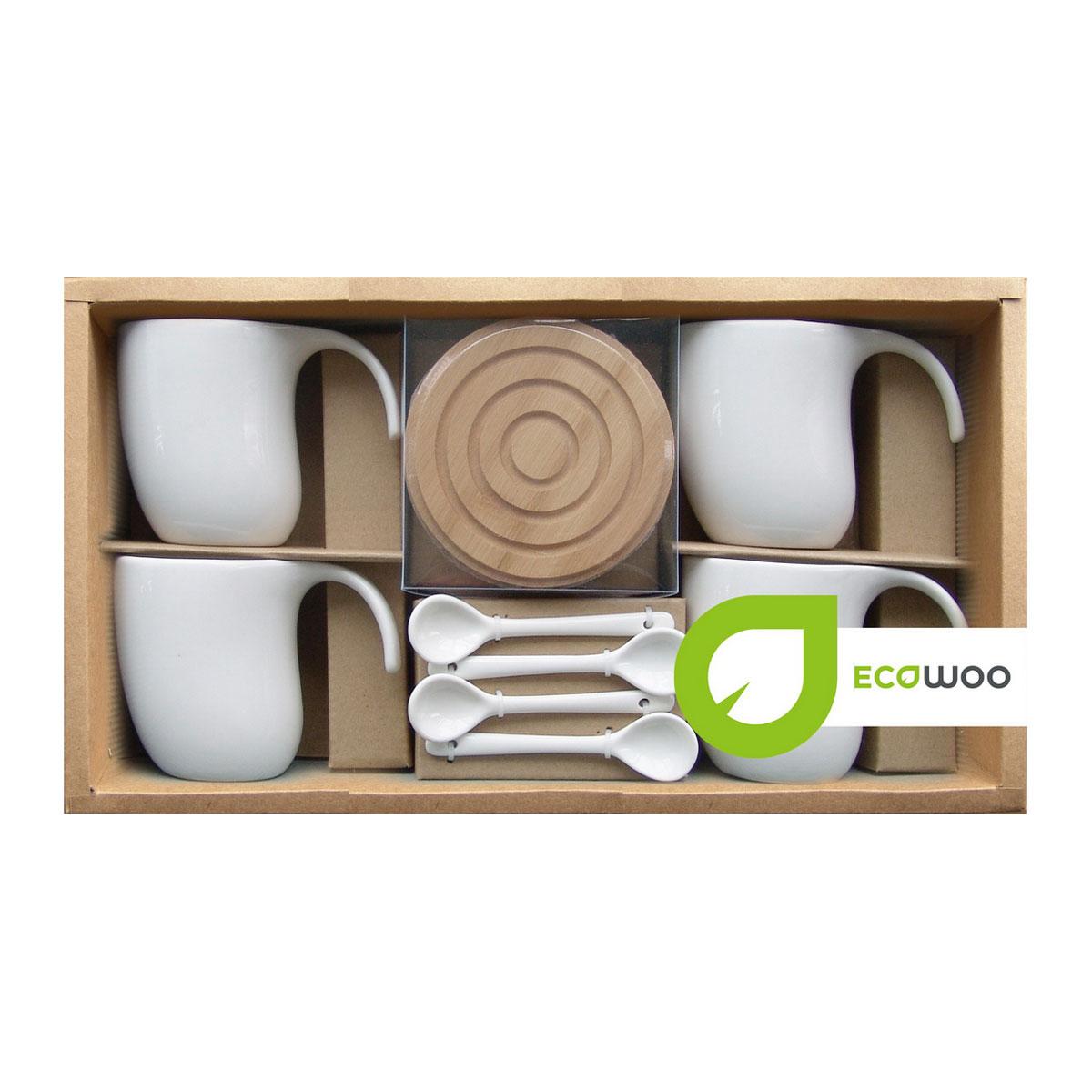 Набор чайный EcoWoo, 12 предметов набор коробов для хранения ecowoo boy and girl 2 шт