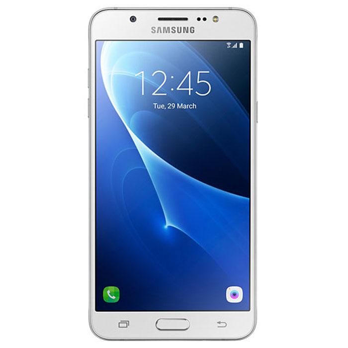 Samsung SM-J710FN Galaxy J7, White смартфон samsung galaxy j7 2016 sm j710fn gold
