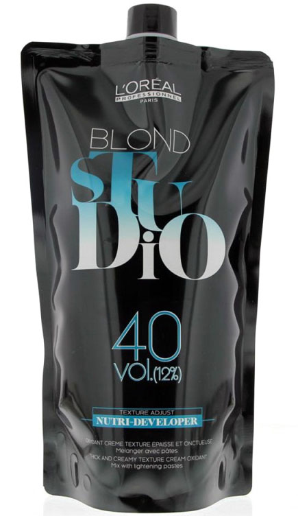 L'Oreal Professionnel Нутри-проявитель Платинум 12% Blond Studio Pate Platinum, 1000 мл набор лореаль