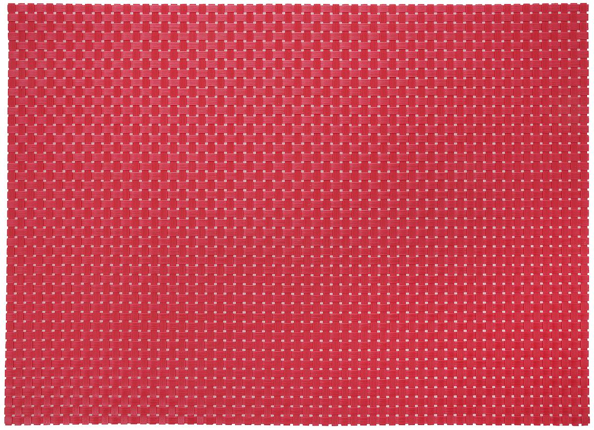 Салфетка сервировочная Tescoma Flair. Rustic, цвет: красный, 45 x 32 см662062Элегантная салфетка Tescoma Flair. Rustic, изготовленная из прочного искусственного текстиля, предназначена для сервировки стола. Она служит защитой от царапин и различных следов, а также используется в качестве подставки под горячее. После использования изделие достаточно протереть чистой влажной тканью или промыть под струей воды и высушить. Не рекомендуется мыть в посудомоечной машине, не сушить на отопительных приборах.Состав: синтетическая ткань.