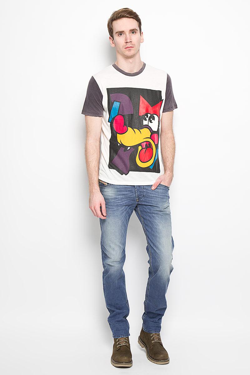 Джинсы мужские Diesel, цвет: синий. 00S4IP-0850W/01. Размер 33-34 (44-34) джинсы s oliver джинсы