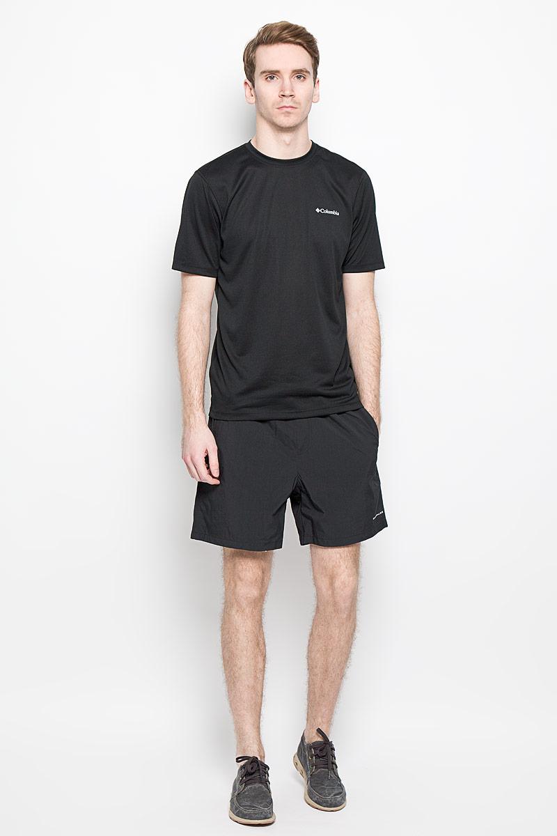 Шорты для плавания мужские Columbia Backcast III, цвет: черный. 1535781-010. Размер S (44/46)