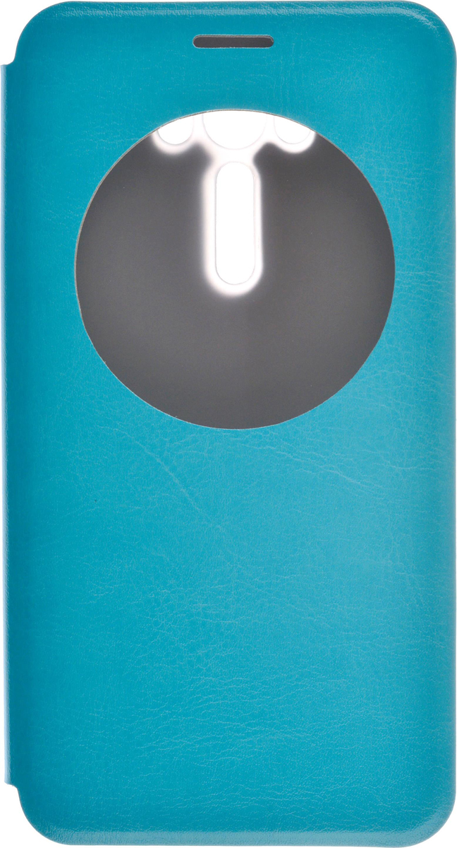 Skinbox Lux AW чехол для Asus Zenfone Laser 2 ZE550KL, Blue2000000080239Чехол Skinbox Lux AW выполнен из высококачественного поликарбоната и экокожи. Он обеспечивает надежную защиту корпуса и экрана смартфона и надолго сохраняет его привлекательный внешний вид. Чехол также обеспечивает свободный доступ ко всем разъемам и клавишам устройства.