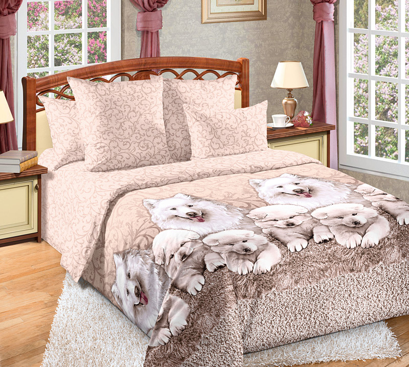 Комплект белья Текс-Дизайн Джесси, евро 1, наволочки 70х704250ПВеликолепное постельное белье Текс-Дизайн Джесси выполнено из высококачественного перкаля (100% хлопок) и украшено эксклюзивным рисунком. Комплект состоит из пододеяльника, простыни и двух наволочек. Перкаль - это тонкая и легкая хлопчатобумажная ткань высокой плотности полотняного переплетения, сотканная из пряжи высоких номеров. При изготовлении перкаля используются длинноволокнистые сорта хлопка, что обеспечивает высокие потребительские свойства материала. Несмотря на свою утонченность, перкаль очень практичен - это одна из самых износостойких тканей для постельного белья.Советы по выбору постельного белья от блогера Ирины Соковых. Статья OZON Гид