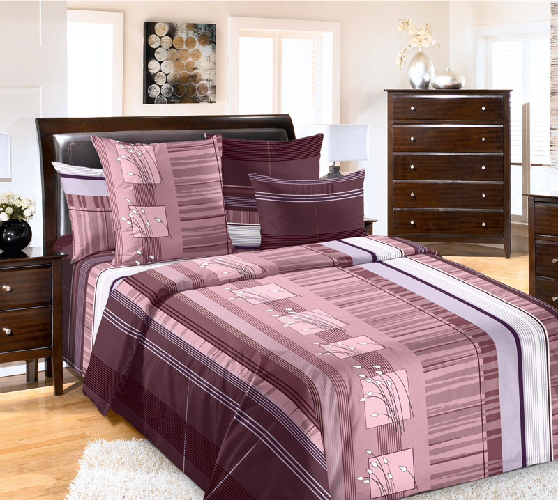 Комплект белья Текс-Дизайн Сандра 3, семейный, наволочки 70х70, цвет: коричневый6220ПВеликолепное постельное белье Текс-Дизайн Сандра 3 выполнено из высококачественного перкаля (100% хлопок) и имеет изысканный внешний вид. Комплект состоит из двух пододеяльников, простыни и двух наволочек. Перкаль - это тонкая и легкая хлопчатобумажная ткань высокой плотности полотняного переплетения, сотканная из пряжи высоких номеров. При изготовлении перкаля используются длинноволокнистые сорта хлопка, что обеспечивает высокие потребительские свойства материала. Несмотря на свою утонченность, перкаль очень практичен - это одна из самых износостойких тканей для постельного белья.