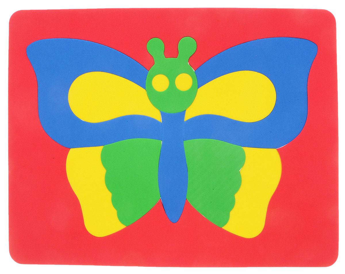 Фантазер Пазл для малышей Бабочка цвет основы красный бомик пазл для малышей цифры цвет основы красный