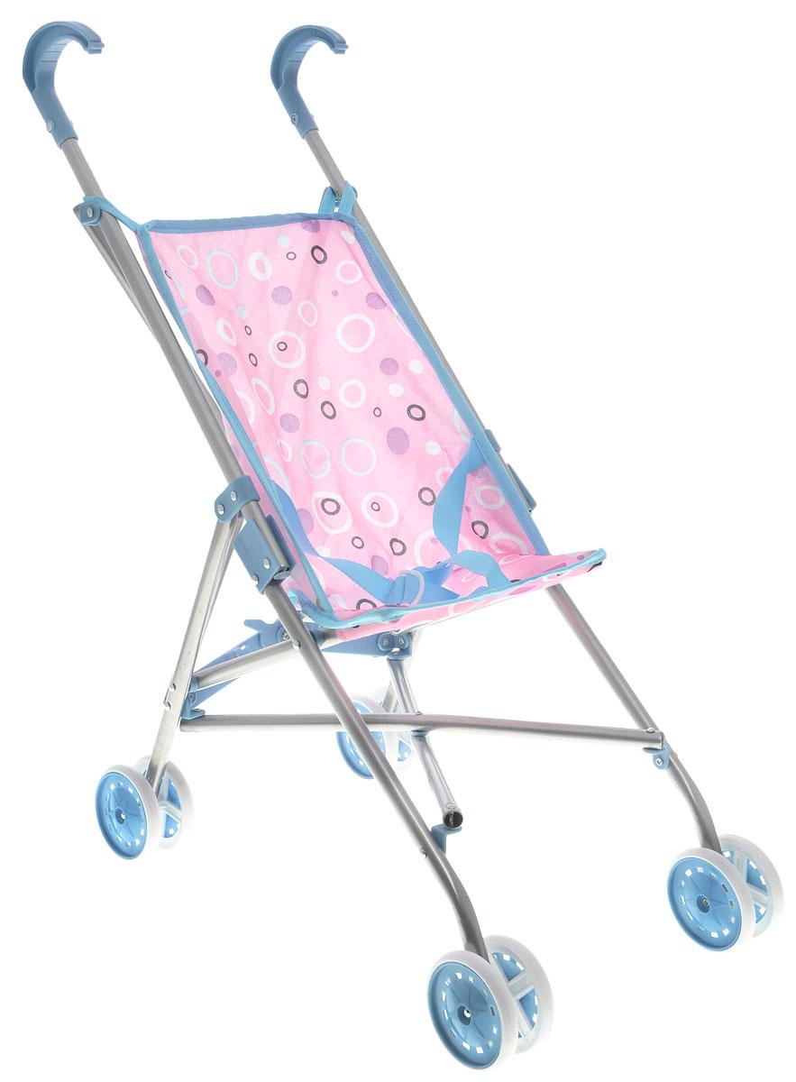 Melobo Прогулочная коляска для кукол цвет голубой розовый коляска для кукол smoby прогулочная baby nurse