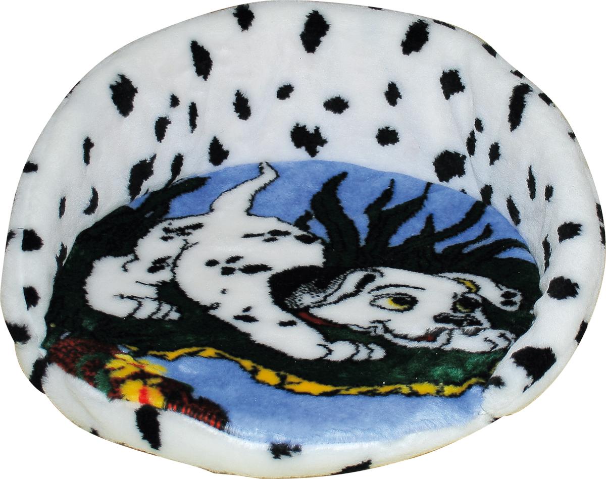 Лежак для животных Зооник Далматин, 46 х 21 см22137Мягкий лежак для животных Зооник Далматин обязательно понравится вашему питомцу. Он выполнен из высококачественного искусственного меха бело-черного цвета, а наполнитель - из поролона. Такой материал не теряет своей формы долгое время. Борта и съемная подстилка обеспечат вашему любимцу уют, а форма лежанки позволит удобно расположиться внутри. Лежак Зооник Далматин станет излюбленным местом вашего питомца, подарит ему спокойный и комфортный сон, а также убережет вашу мебель от многочисленной шерсти.