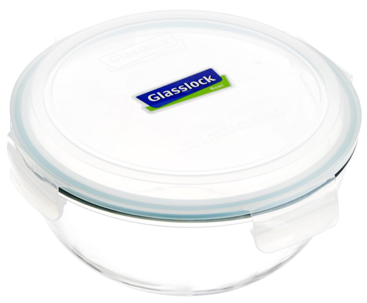 Контейнер для хранения продутов Glasslock, цвет: прозрачный, светло-бирюзовый, 4 л. MBCB-400MBCB-400Круглый контейнер Glasslock изготовлен из высококачественного закаленного ударопрочного стекла. Герметичная крышка, выполненная из пластика и снабженная уплотнительной резинкой, надежно закрывается с помощью четырех защелок. Стеклянная посуда нового поколения от Glasslock экологична, не содержит токсичных и ядовитых материалов; превосходная герметичность позволяет сохранять свежесть продуктов; покрытие не впитывает запах продуктов; имеет утонченный европейский дизайн - прекрасное украшение стола.Подходит для мытья в посудомоечной машине, хранения в холодильных и морозильных камерах, а также можно использовать в микроволновых печах.Размер контейнера (с учетом крышки): 25,5 х 25,5 х 14 см.УВАЖАЕМЫЕ КЛИЕНТЫ!Обращаем ваше внимание на тот факт, что объем чаши указан максимальный, с учетом полного наполнения до кромки. Шкала на внутренней стенке имеет меньший литраж.