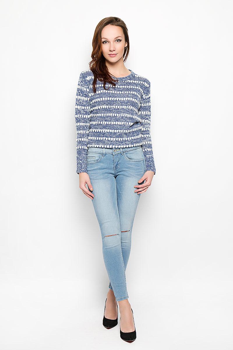 цены на Джинсы женские Tom Tailor Denim, цвет: голубой. 6204482.00.71_1051. Размер 28-32 (44-32) в интернет-магазинах