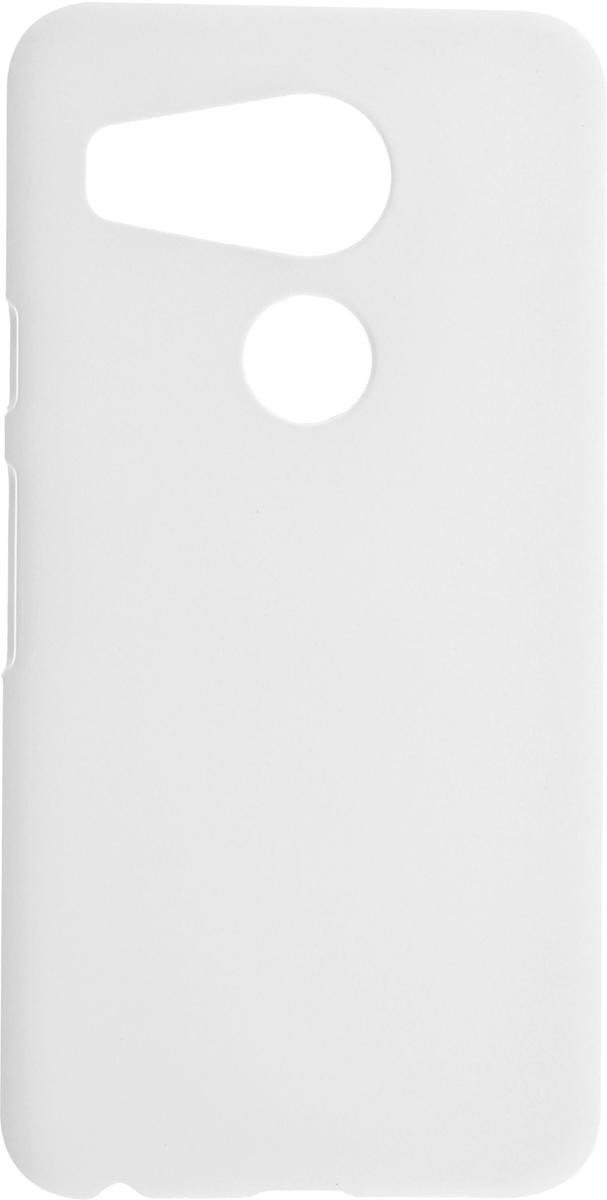 Skinbox 4People чехол для LG Nexus 5X, White2000000081854Накладка Skinbox 4People для LG Nexus 5X выполнена из высококачественного поликарбоната. Она бережно и надежно защитит ваш смартфон от пыли, грязи, царапин и других повреждений. Чехол оставляет свободным доступ ко всем разъемам и кнопкам устройства.