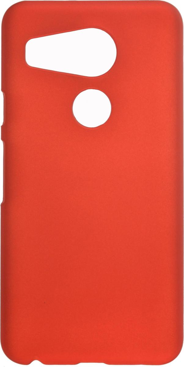 Skinbox 4People чехол для LG Nexus 5X, Red2000000081861Накладка Skinbox 4People для LG Nexus 5X выполнена из высококачественного поликарбоната. Она бережно и надежно защитит ваш смартфон от пыли, грязи, царапин и других повреждений. Чехол оставляет свободным доступ ко всем разъемам и кнопкам устройства. В комплект с чехлом идет защитная пленка на экран смартфона.