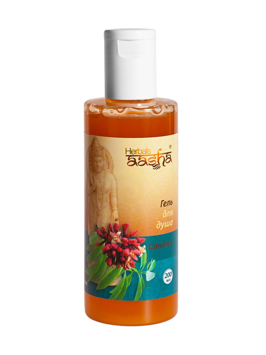 Aasha Herbals Гель для душа Сандал, 200 мл841028003808Эффективное очищающее средство на основе травяных экстрактов. Мягко очищает поры, устраняет жирный блеск, увлажняет и успокаивает кожу. Легко пенится и смывается. Для нормальной кожи.