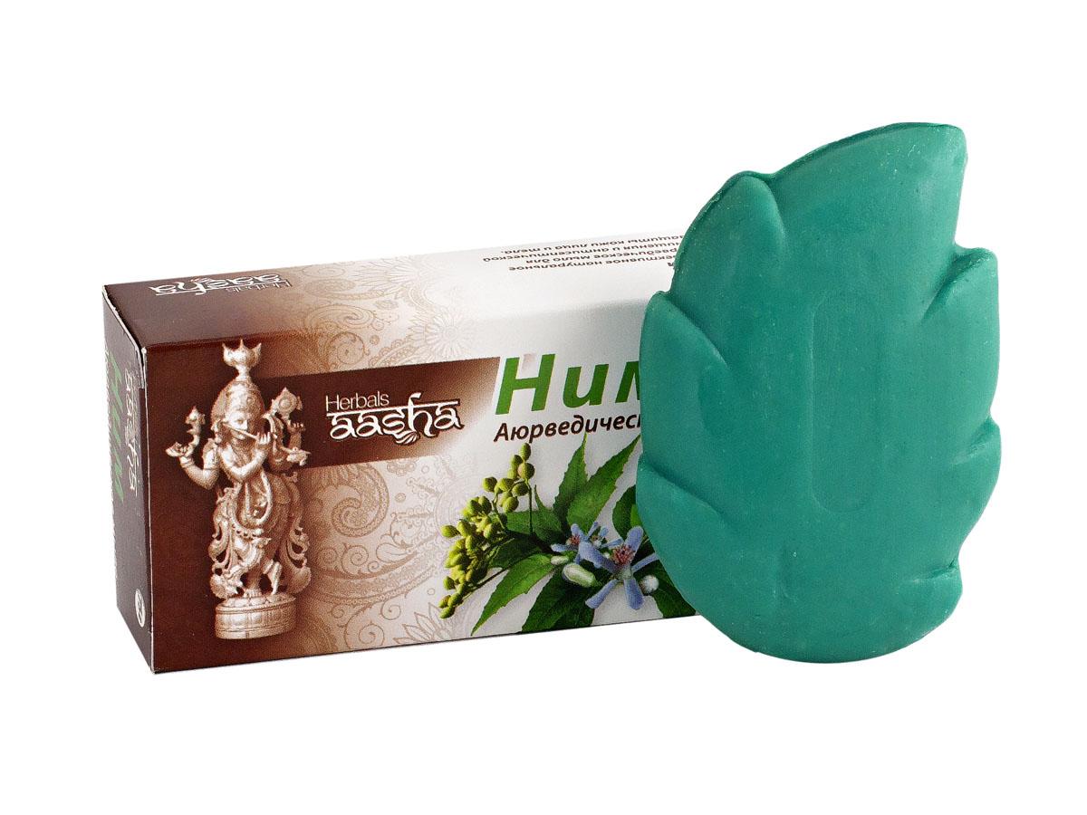 Aasha Herbals мыло твердое Ним, 75 г