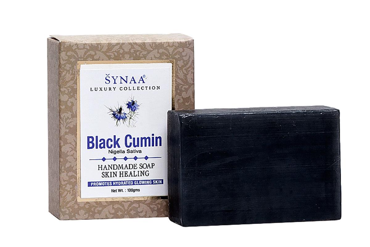 Synaa мыло ручной работы Черный тмин, 100 г841028005628Мыло ручной работы с лечебно-профилактическими свойствами, обогащенное маслом семян Черного тмина и кокосовым маслом. Оказывает профилактическое действие при лечении воспалительных процессов кожи. Глубоко очищает поры, снимает отечность, освежает кожу. Способствует заживлению кожу при лечении акне, экзем, псориаза и грибковых заболеваний. Рекомендуется для проблемной и жирной кожи. Подходит для любого типа кожи