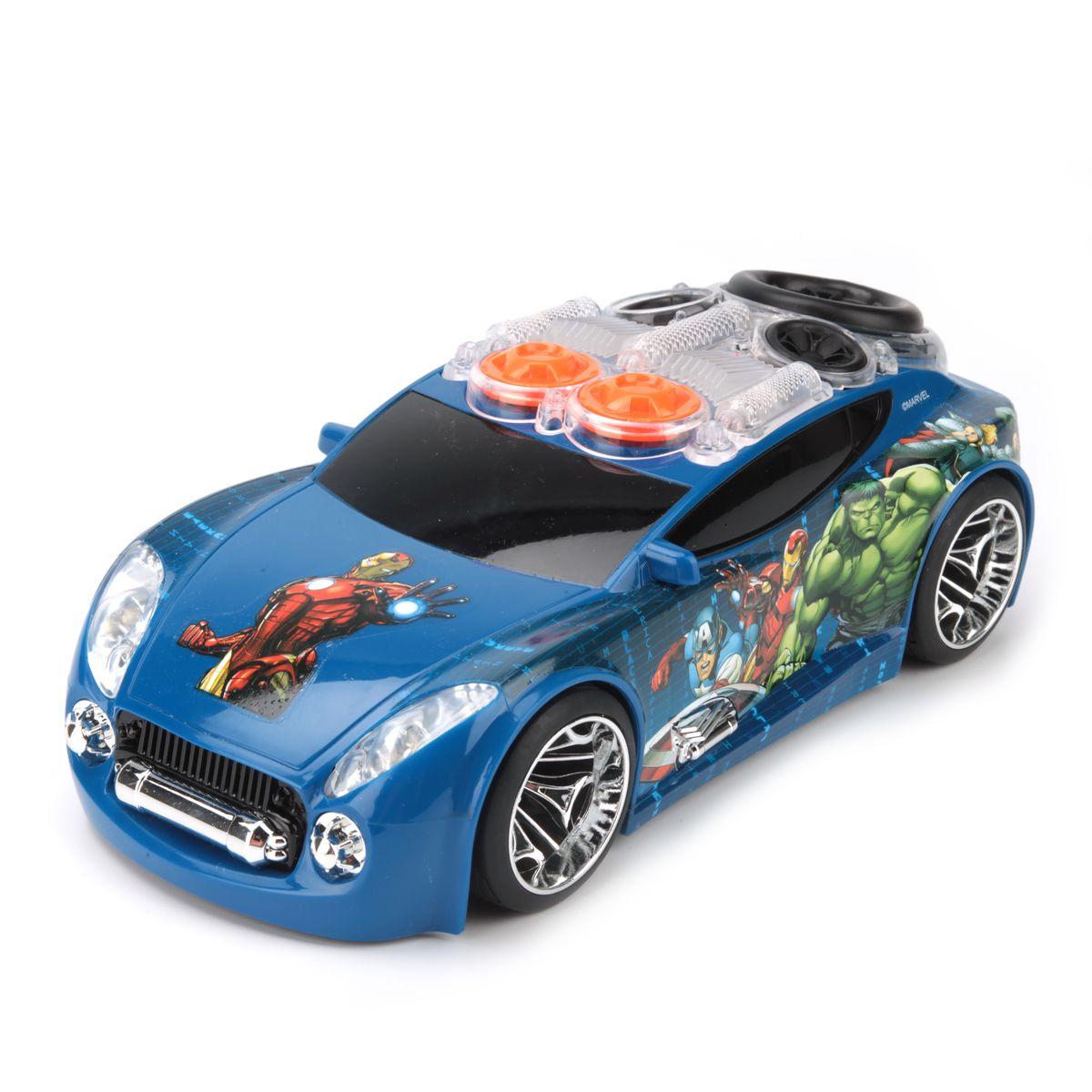 Toystate Машина Мстители цвет синий сумки для мамы candide сумка матрас для путешествий