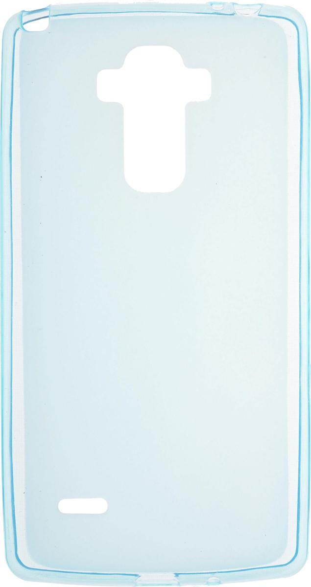 Skinbox Silicone чехол для LG G4 Stylus, Blue skinbox 4people чехол для lg g3 stylus yellow
