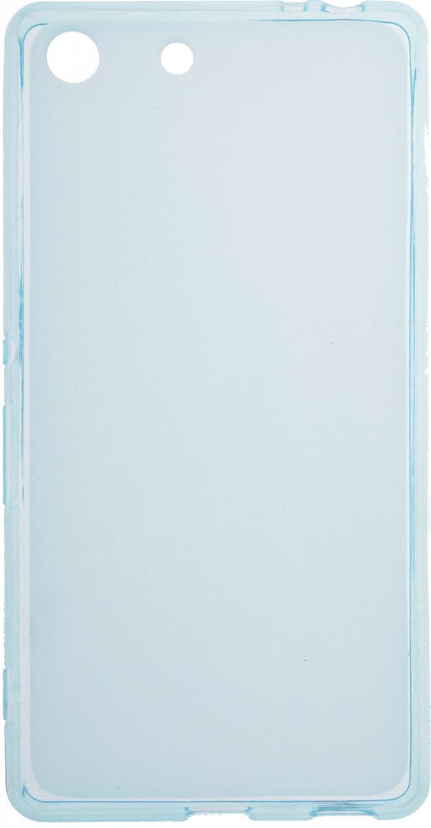 Skinbox Silicone чехол для Sony Xperia M5, Blue2000000083315Чехол-накладка Skinbox Silicone для Sony Xperia M5 обеспечивает надежную защиту корпуса смартфона от механических повреждений и надолго сохраняет его привлекательный внешний вид. Накладка выполнена из высококачественного силикона, плотно прилегает и не скользит в руках. Чехол также обеспечивает свободный доступ ко всем разъемам и клавишам устройства.