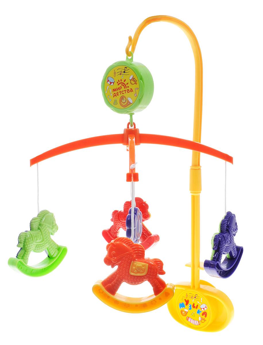 Мир детства Мобиль Музыкальная сказка Лошадки - Игрушки для малышей