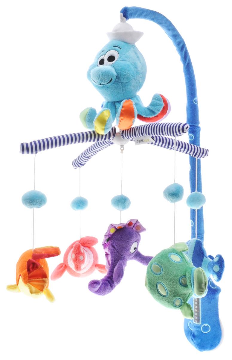 WeeWise Музыкальный мобиль Океан - Игрушки для малышей