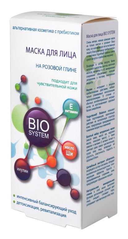 Bio System Маска для лица, 75 гB106-202Очень мягкая, нежная кремовая маска не только смягчит и увлажнит Вашу кожу, но и активизирует ее естественную защиту благодаря вводу пребиотического комплекса Yogurtene Balance (смеси сухого йогурта и пребиотика инулина).Входящие в состав йогурта белки молочной сыворотки, лактоза, молочная кислота, витамины А и В, минеральные соединения обеспечивают хорошее увлажнение и поставку питательных веществ.Инулин – ингредиент с мощным пребиотическим действием, избирательно усваиваемый непатогенными микроорганизмами. В отличие от обычных антибактериальных ингредиентов, он восстанавливает здоровый баланс микробиома.Yogurtene Balance оказывает также подтягивающее, укрепляющее действие на коллагеновую структуру кожи, предупреждая преждевременное появление возрастных зменений.Богатый набор натуральных масел (масло какао, масло ши, кедровое масло, кокосовое масло), а также сквалан и витамин Е активно питают и смягчают даже самую чувствительную, сухую кожу лица, возвращая ей упругость, эластичность, гладкость и здоровый блеск.Целебный экстракт облепихи, входящий в состав этой маски, обладает выраженным антиоксидантным, тонизирующим эффектом, борется с преждевременным старением кожи, предупреждает образование морщин.Натуральная минеральная глина в этой маске выполняет функцию детоксикации: улучшает цвет лица, очищает, стягивает поры, успокаивает чувствительную кожу лица.