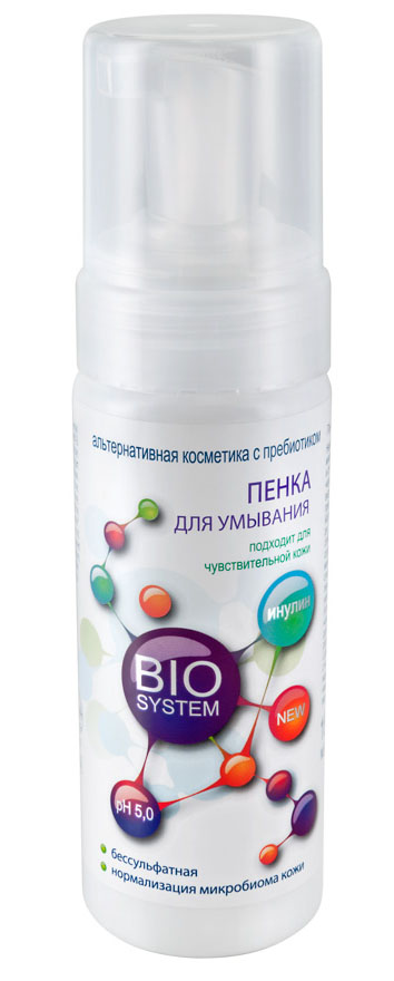 Bio System Пенка для умывания, 160 млB106-304Нежное облачко бессульфатной пенки мягко очистит кожу без пересушивания и стягивания. Инновационный пребиотический комплекс YogurteneBalance, входящий в состав этого средства, представляет собой смесь сухого йогурта и пребиотика инулина. Благодаря пребиотической активности, способствует восстановлению и сохранению здорового баланса микробиома кожи. Пенка содержит специальный биомиметический комплекс компонентов натурального увлажняющего фактора кожи (аминокислоты, лактат натрия, пирролидонкарбоновая кислота), который способствует долговременному удержанию влаги в роговом слое эпидермиса. Компонент Lamesoft PO65 формирует на поверхности кожи невидимую, дышащую мантию, препятствующую пересушиванию, защищающую ее от агрессивных воздействий.