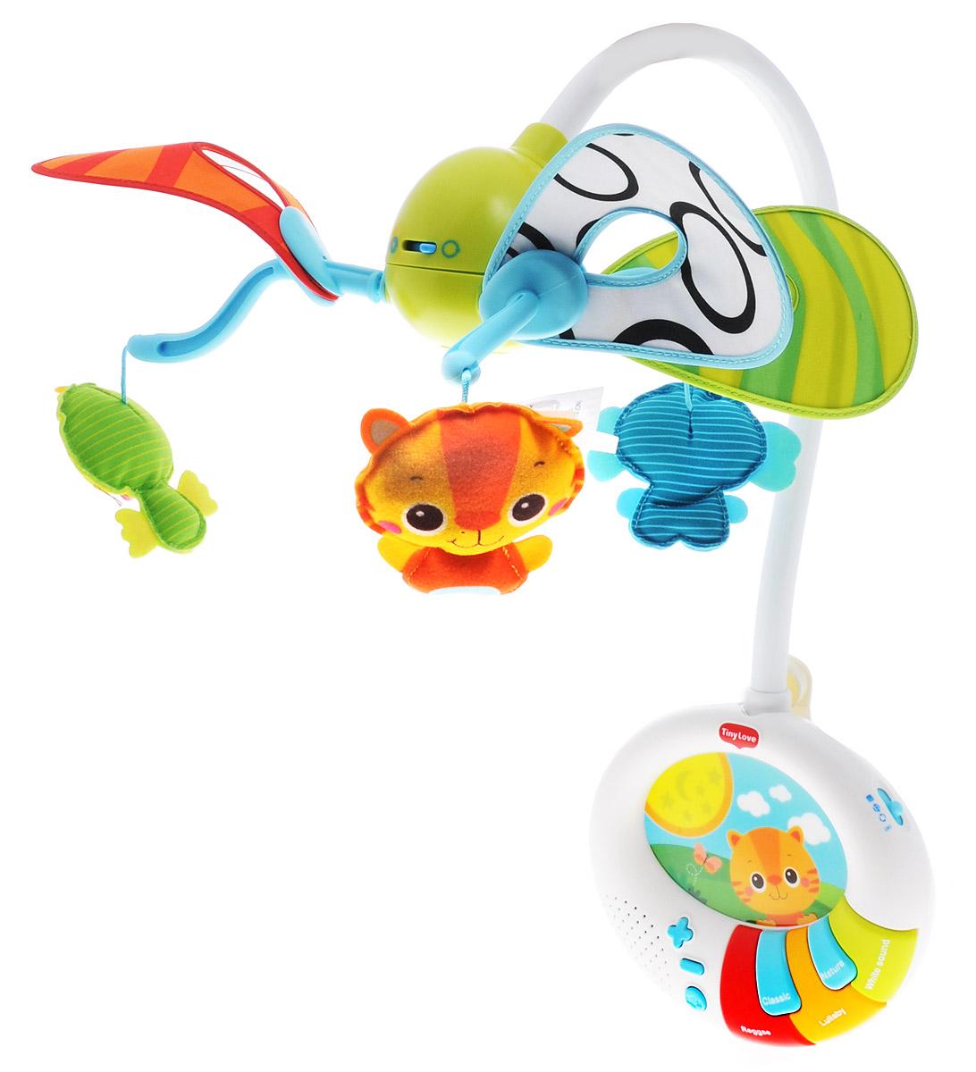 Tiny Love Музыкальный мобиль Игра в прятки - Игрушки для малышей