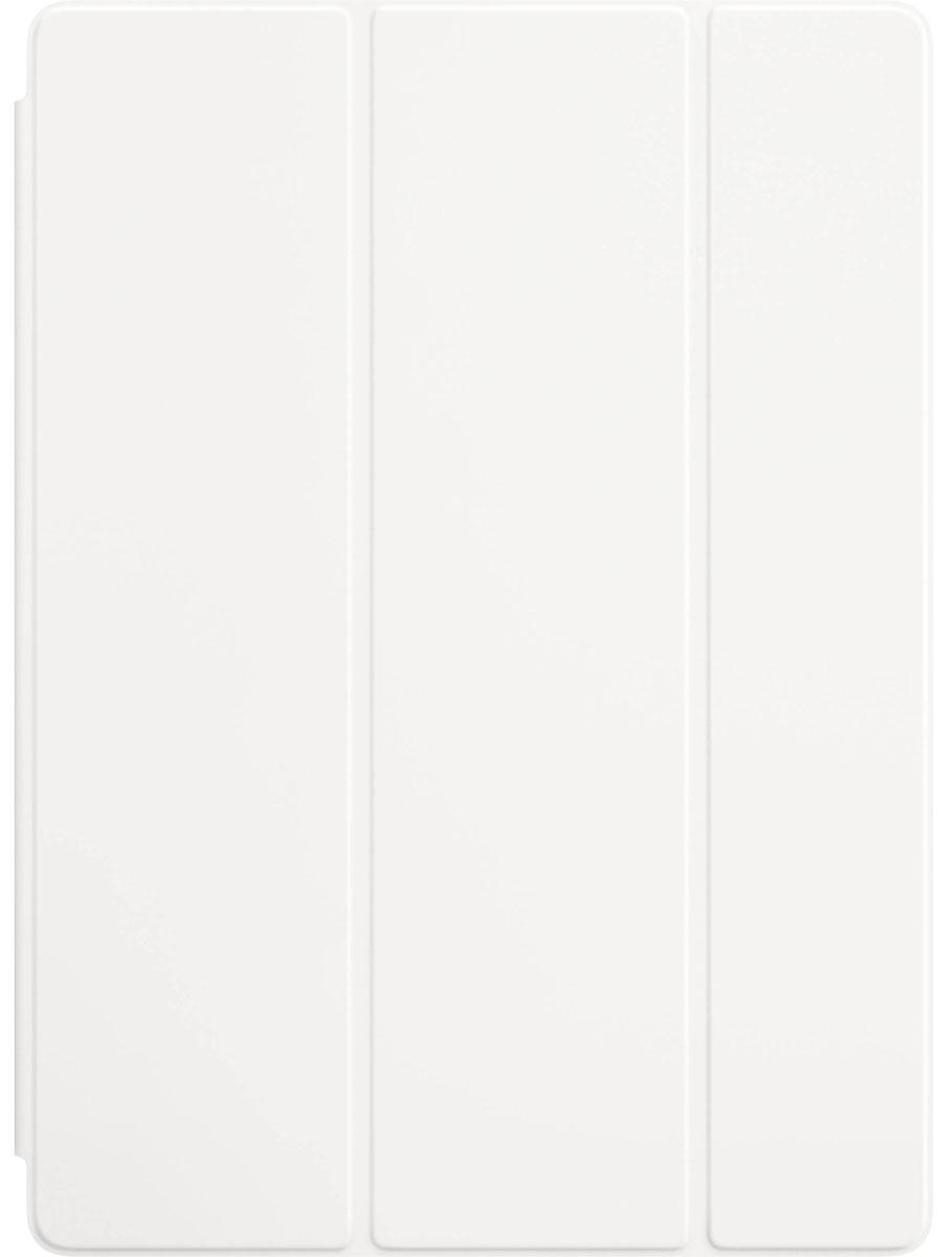 Apple Smart Cover чехол для iPad Pro 12.9, WhiteMLJK2ZM/AЛёгкая и прочная обложка Smart Cover защитит дисплей вашего iPad Pro, оставляя заднюю алюминиевую панель открытой. Для защиты со всех сторон используйте обложку в сочетании с силиконовым чехлом для iPad Pro. Магнитное крепление надёжно фиксирует обложку Smart Cover с iPad Pro. Откройте Smart Cover, чтобы вывести iPad Pro из режима сна. Закройте её, и устройство вернётся в режим сна.