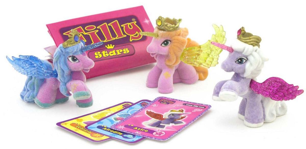 Filly Dracco Набор фигурок Лошадки Filly Звезды Друзья Afrodite Astro Scorpio игровые наборы dracco набор игровой filly русалочки танцевальная сцена