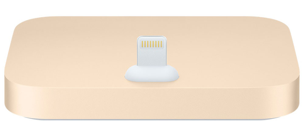 Apple iPhone Lightning Dock, Gold док-станция
