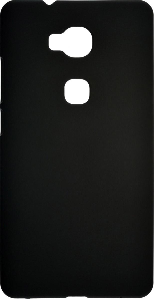 Skinbox 4People чехол для Huawei Honor 5X, Black2000000087979Чехол-накладка Skinbox 4People для Huawei Honor 5X бережно и надежно защитит ваш смартфон от пыли, грязи, царапин и других повреждений. Выполнен из высококачественного поликарбоната, плотно прилегает и не скользит в руках. Чехол-накладка оставляет свободным доступ ко всем разъемам и кнопкам устройства.