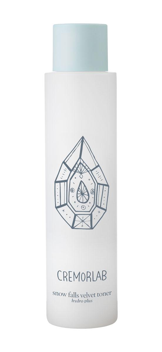 """Cremorlab Hydro Plus Интенсивно увлажняющий тоник с экстрактом эдельвейса """"Snow Falls Velvet Toner"""", 150 мл"""