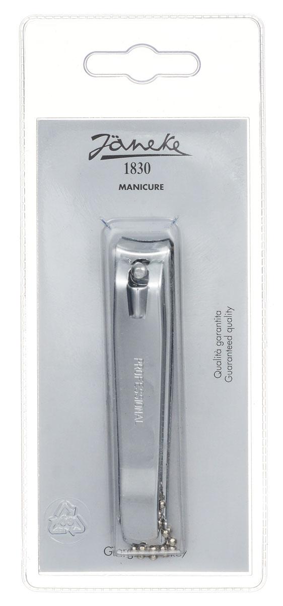 Janeke Кусачки-книпсер для ногтей. MP210CR566499Кусачки для ногтей Janeke выполнены из высококачественной стали и прекрасно подойдут как для домашнего использования, так и для использования профессионалами. Отсутствие острых концов этого аксессуара сделает его использование еще безопаснее: он идеально подойдет для использования при уходе за ногтями детей. С их помощью вы придадите правильную округлую форму своим ногтям.Товар сертифицирован.Как ухаживать за ногтями: советы эксперта. Статья OZON Гид