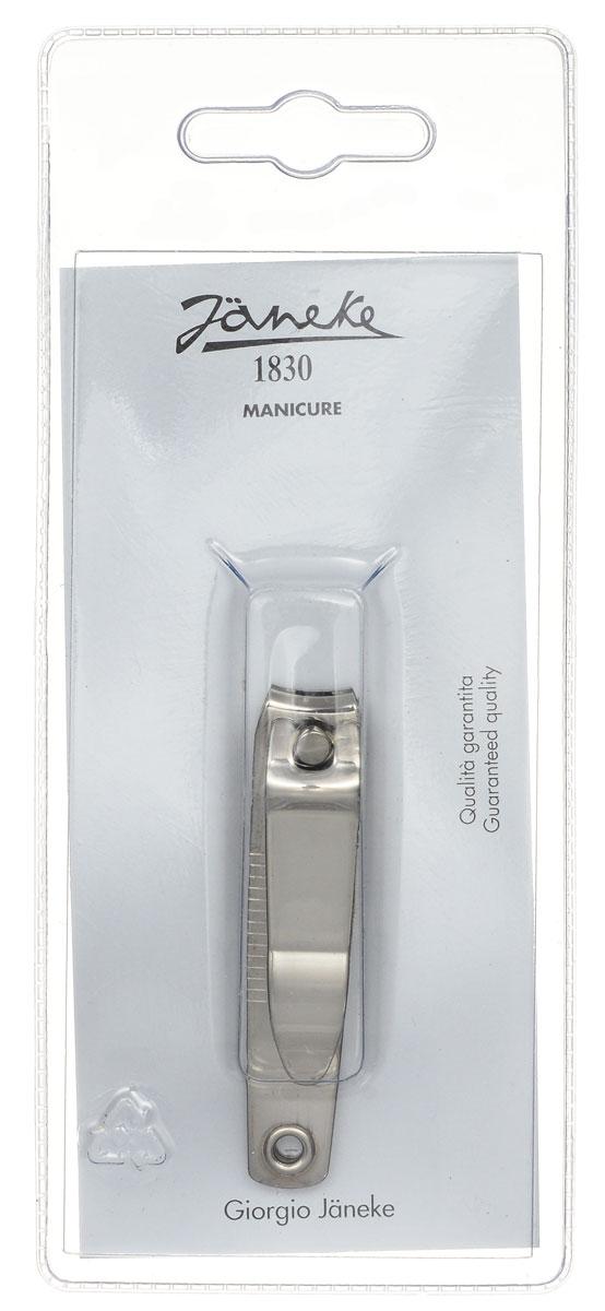 Janeke Кусачки-книпсер для ногтей. MP205CRB657488Кусачки для ногтей Janeke выполнены из высококачественного металла и прекрасно подойдут как для домашнего использования, так и для использования профессионалами.Отсутствие острых концов этого аксессуара сделает его использование еще безопаснее: он идеально подойдет для использования при уходе за ногтями детей. С их помощью вы придадите правильную округлую форму своим ногтям. Товар сертифицирован.