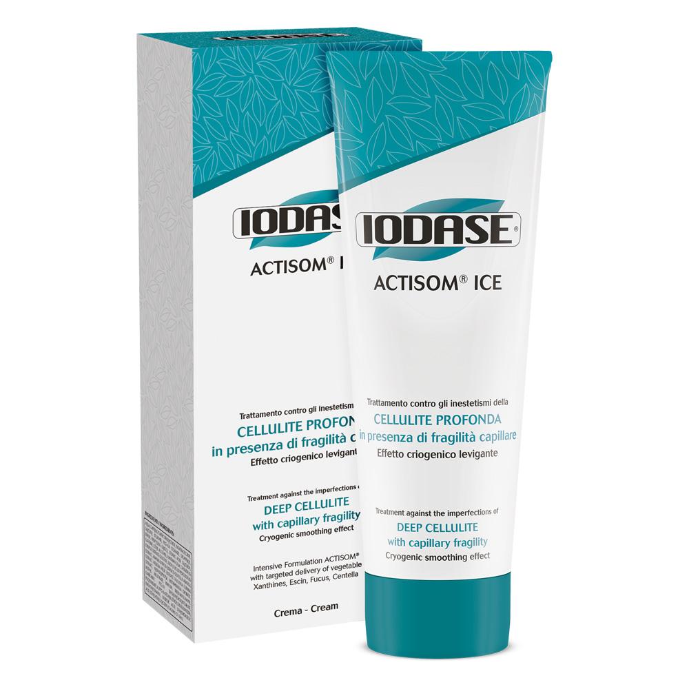 Iodase Крем для тела Actisom Ice Crema, 220 мл сыворотки iodase сыворотка для тела lipolit