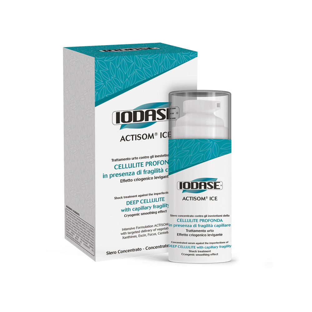 Iodase Сыворотка для тела Actisom Ice Fluido Concentrato, 100 мл сыворотки iodase сыворотка для тела lipolit