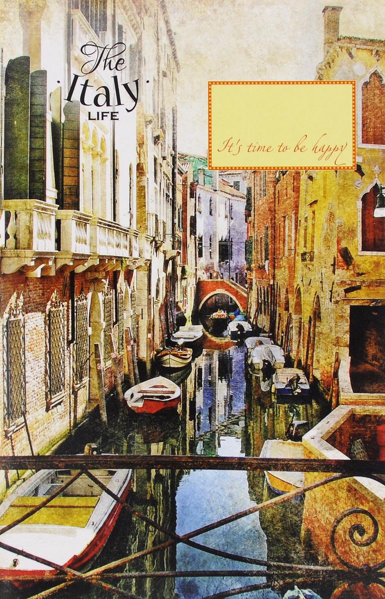 Блокнот. Узкие улочки в Венеции (А5) мой любимый блокнот фиалки в марте а5