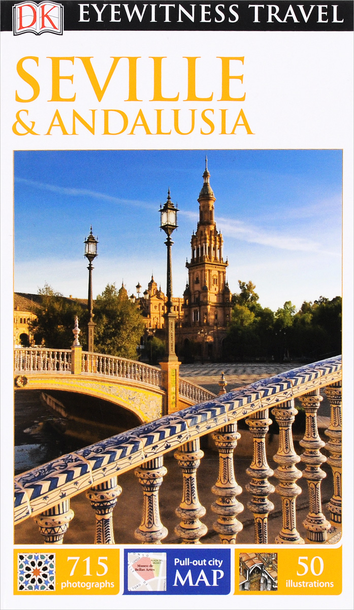 Фото Seville & Andalusia dk eyewitness top 10 travel guide scotland