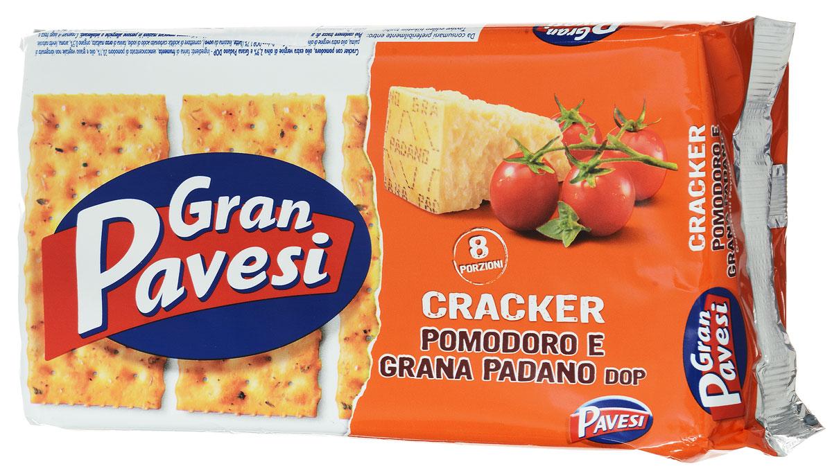Gran Pavesi Cracker Pomodoro крекер с томатами, 250 г8013355999433Gran Pavesi Cracker Pomodoro - классический легкий соленый крекер с уникальной структурой и насыщенным вкусом Средиземноморья, приготовленный по традиционным итальянским рецептам на основе высококачественных и натуральных ингредиентах. Без гидрогенизированных жиров, консервантов и красителей.