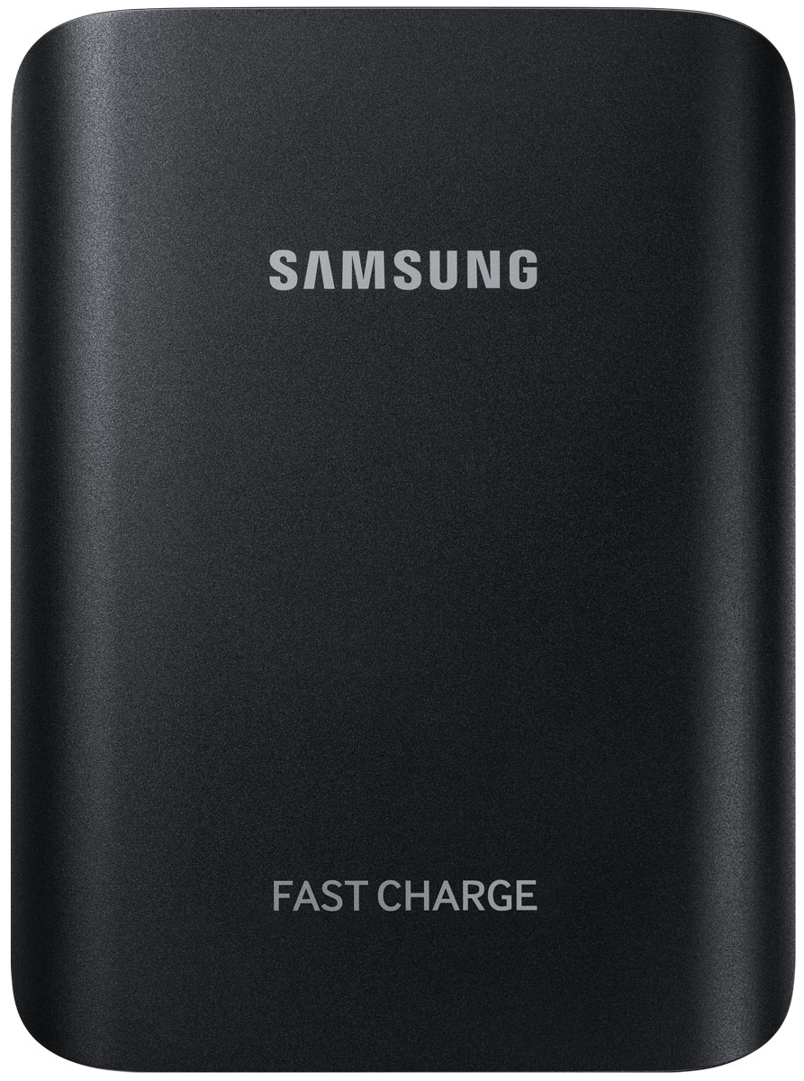 Samsung EB-PG935BBR, Black внешний аккумуляторEB-PG935BBRGRUВнешний аккумулятор Samsung EB-PG935 использует технологию полноценной быстрой зарядки, что означает, что он не только быстро заряжает совместимое мобильное устройство, но и сам заряжается очень быстро.Универсальный внешний аккумулятор совместим со смартфонами Samsung с поддержкой функции быстрой зарядки Adaptive Fast Charge, а также многими другими мобильными устройствами.От многих других этот внешний аккумулятор отличает стильный металлический корпус с закруглёнными краями, схожий с дизайном флагманских устройств Samsung.